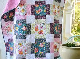 Flower Market {Free Quilt Pattern}
